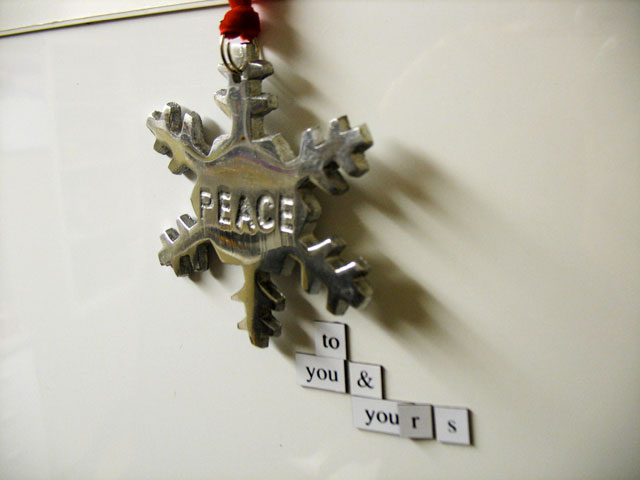 "Fridge for Thought by Andrew Kooman - ""Peace"""