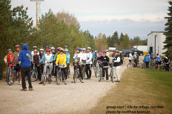Ride for Refuge Red Deer