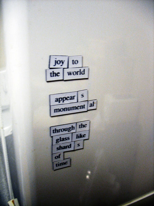 Fridge for Thought: Joy to the World